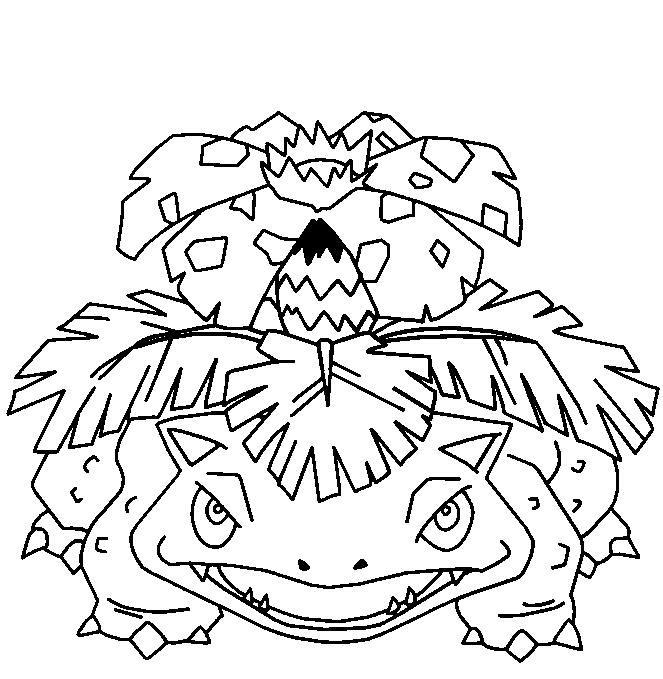 Florizarre - Coloriage pokemon sulfura ...