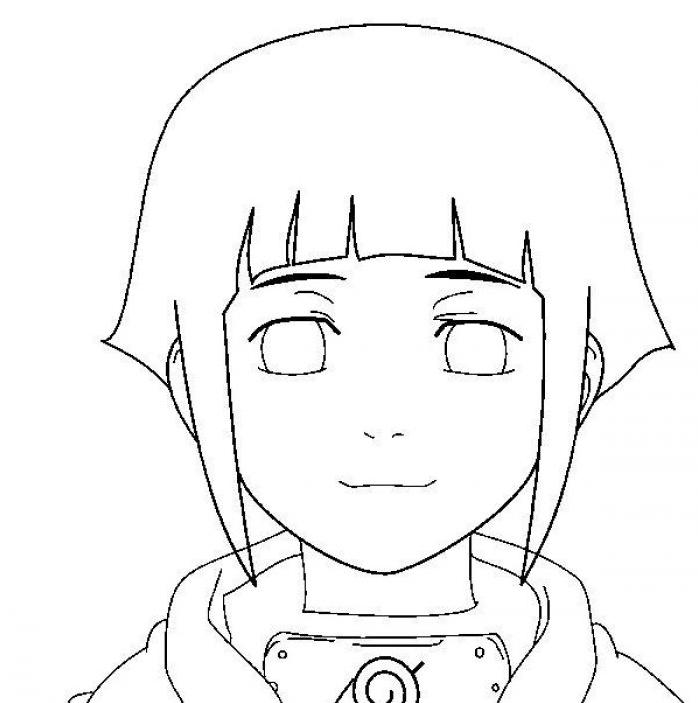 Hinata - Naruto facile a dessiner ...