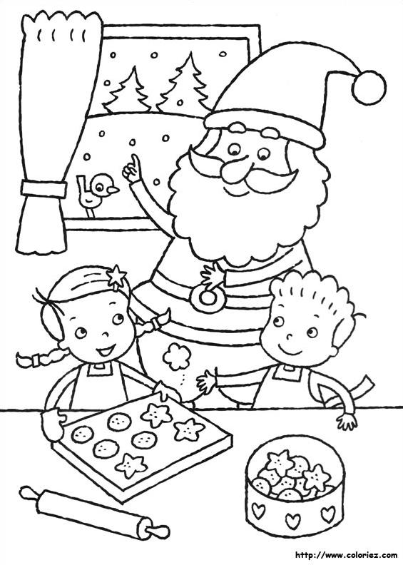 Père Noël En Cuisine