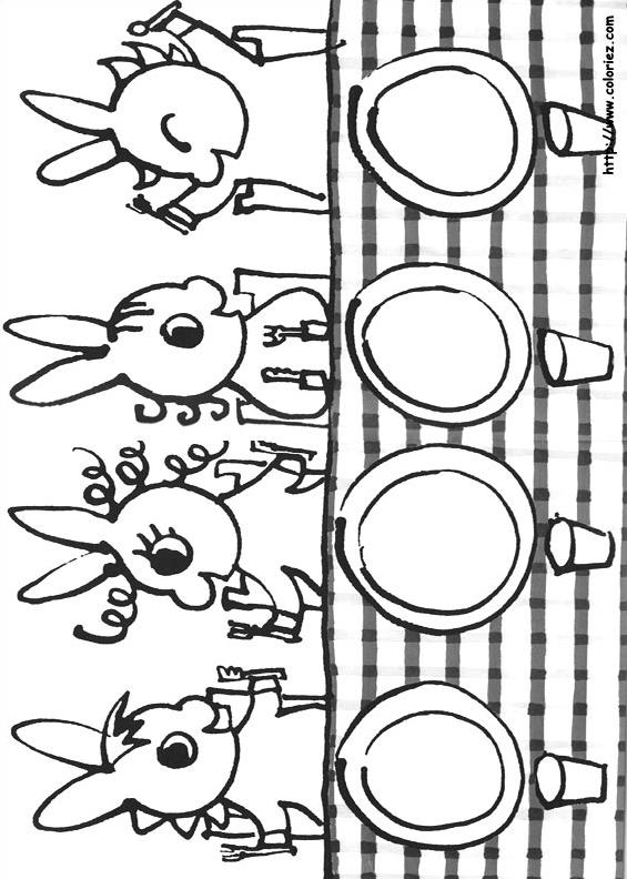 Le repas de trotro - Trotro et noel ...