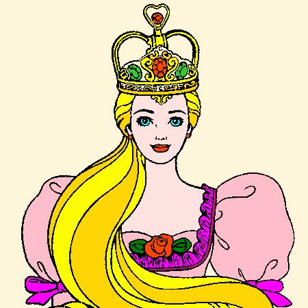 Coloriages Barbie A Imprimer